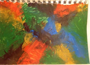 Abstract Painting Exercise 1