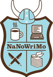 National Novel Writing Month (NaNoWriMo) Shield